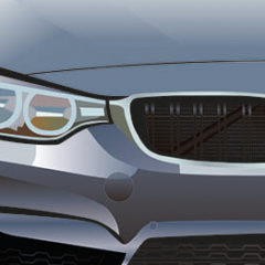 BMW Illustration