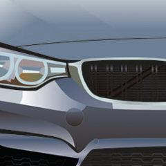 Illustration. BMW